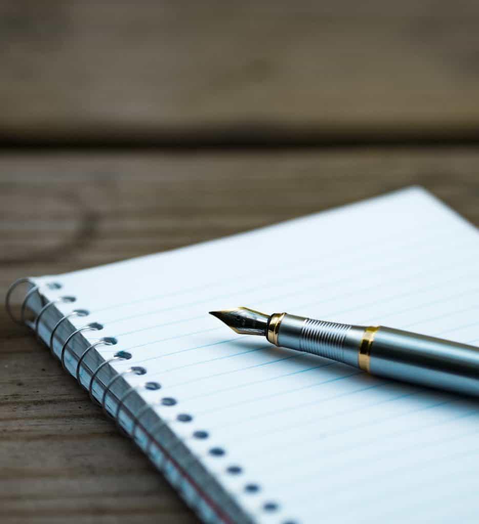 Create a website outline