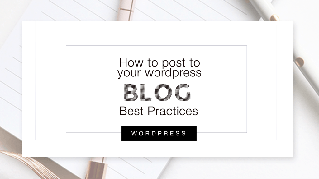 How to post to Wordpress